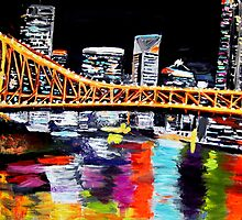 Storey Bridge Brisbane  by gillsart