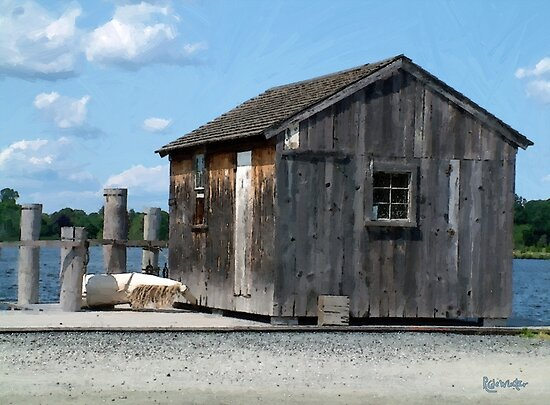 Seaside Shack by RC deWinter