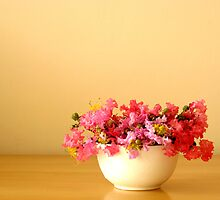 Bowl of Flowers by Anaa