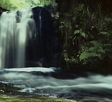 Sgwd-yr-Eira Waterfall by DMHImages