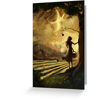 Impending Harvest Greeting Card