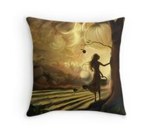 Impending Harvest Throw Pillow