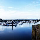 Burry Port Harbour by Stephen Peters