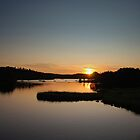 """ Meehans Cove Saint John New Brunswick ""  by Gerry Myers"