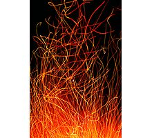 Fire Strings Photographic Print