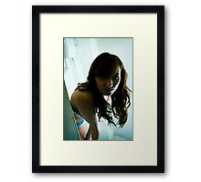 and you want what? Framed Print