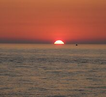 SUNSET, LAKE MICHIGAN by WINTERROSE