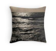 Lookout at Sandringham Beach Throw Pillow