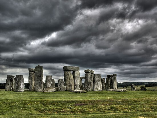 Stonehenge by Beth A