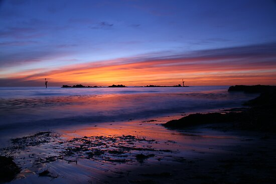 Sundown Glenelg by Gary Cummins