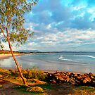 Dawn at Byron Bay, NSW, Australia by Bob Culshaw