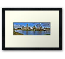 Chateau de Montbrun, Haute Vienne, France Framed Print
