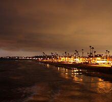Lights of Newport  by Rosalee Lustig
