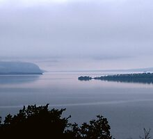 Bay Nipigon into Lake Superior - Hwy 17 - Ontario by loralea