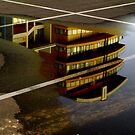 Car Park Reflections by Jon Staniland