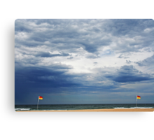 Beach Storm Canvas Print