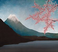 Mount Fuji : Japanese Art by soniei