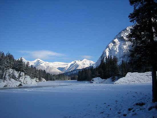 Bow River..minus 30 degrees by cambray