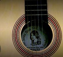 Folk Guitar by Judi Taylor