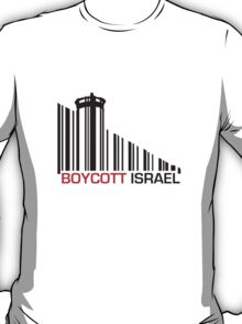 Boycott Israel (wall version) T-Shirt