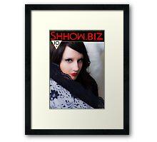 Shhow Biz Victorian Geisha Framed Print