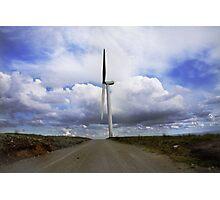 Wind - Lancashire  Photographic Print