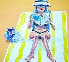 BEACH LADY by vinn
