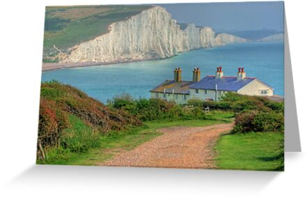 The Seven Sisters - The Classic View!  - HDR by Colin J Williams Photography