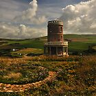 Kimmeridge Folly Or Cavels Tower. by delros
