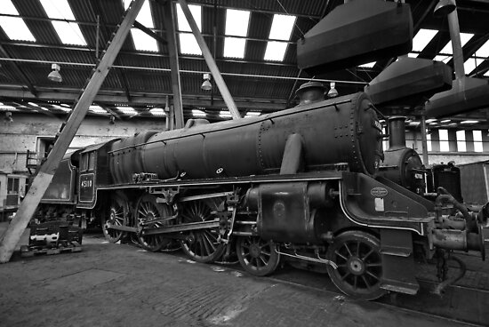 Barrow Hill Roundhouse by Steve  Liptrot