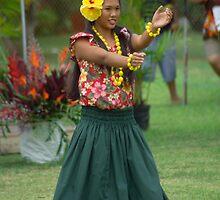 Tahitian Dancer III by Dennis Begnoche Jr.