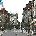 Rue de la Ste. Louis by Brenda Dow