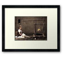 Doll ( her life ) Framed Print