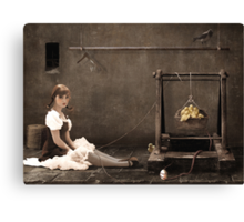 Doll ( her life ) Canvas Print