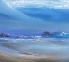 Pfeiffer Beach, August Fog by Barbara Sparhawk