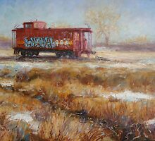 Lonely Caboose by Donelli J.  DiMaria