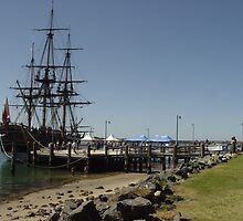 HMB Endeavour Port Macquarie III by Gary Kelly