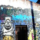 Fitzroy Graffiti #3 by Roz McQuillan