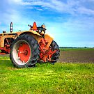 Wisconin Tractor by Richard Fosness