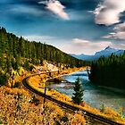 Rail Road Tracks by Jenn Shiels