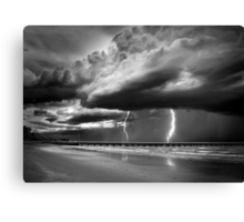 Summer Storm Canvas Print