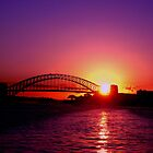 Sydney Harbour Sunset by Natasha M