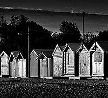Brighton Beach Shacks #1, Melbourne by Mark Boyle