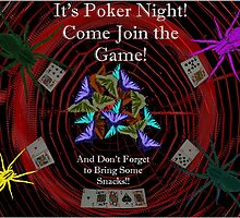 Poker Night Invite by Expressions &  Reflections