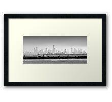 Melbourne Skyline #1 Framed Print