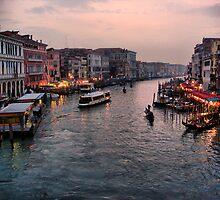 Canal Grande by Eyal Geiger