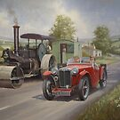MG M type Midget  by Mike Jeffries