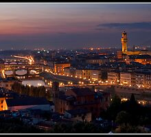 Sunset over Florence by Shaun Whiteman
