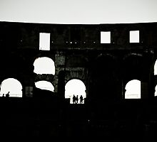Colosseum Silhouette by AriseShine