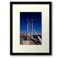 Nelson Mandela Bridge & Walkway Framed Print